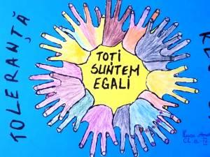 """Aproximativ 700 de elevi și profesori de la Școala """"Miron Costin"""", implicați în activități ce au avut ca temă """"Educația Globală"""""""