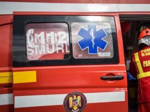 O femeie a ajuns la spital cu arsuri, în urma unui incendiu la Frătăuții Vechi