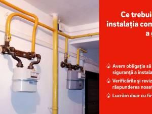 Compania de distribuție a gazelor naturale le recomandă asociațiilor de proprietari să se ocupe de întreținerea instalațiilor comune de utilizare a gazului