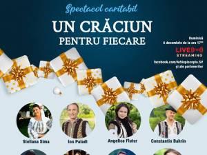 """De Moș Nicolae, """"Un Crăciun pentru fiecare"""", concert caritabil online organizat de Arhiepiscopia Sucevei"""