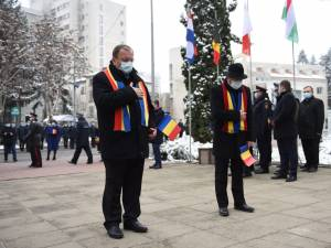 """Gheorghe Flutur de Ziua Națională a României: """"Acum când țara, când omenirea trece prin momente grele numai uniți putem trece mai ușor"""""""
