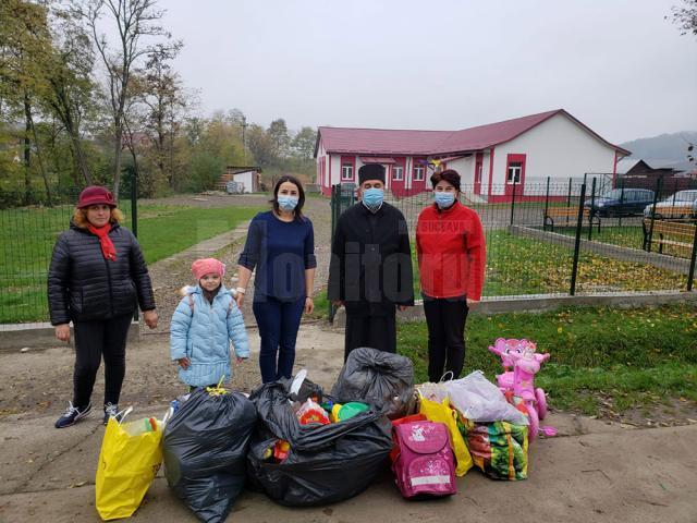 Preoţii din Protopopiatul Fălticeni ajută Spitalul Municipal şi copiii nevoiaşi