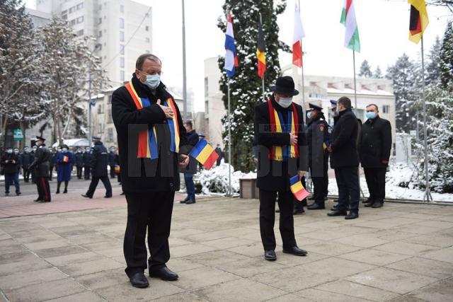 Ziua Națională a României, marcată la Suceava cu cea mai restrânsă ceremonie de până acum