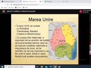 Ziua Națională a României, sărbătorită de elevii și profesorii de la Centrul Școlar din Gura Humorului