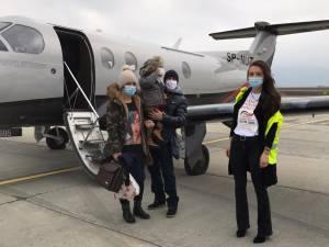 A pus la dispoziție aeronava personală pentru transportul unui copil bolnav în Turcia