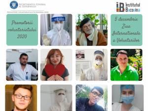 """10 voluntari ai Institutului Bucovina, nominalizați pentru merite deosebite în cadrul programului """"Promotorii Voluntariatului"""""""