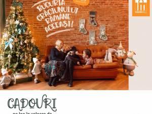 Iulius Mall Suceava a pregătit mii de cadouri, în valoare de peste 8.000 de euro