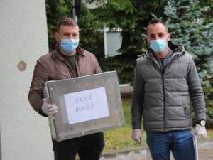 Urna mobilă a ajuns la pacienții internați de la secția de votare cea mai apropiată de spitale