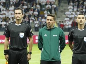 Sebastian Colțescu, al doilea din stânga, i-a pus într-o situație ingrată pe colegii lui
