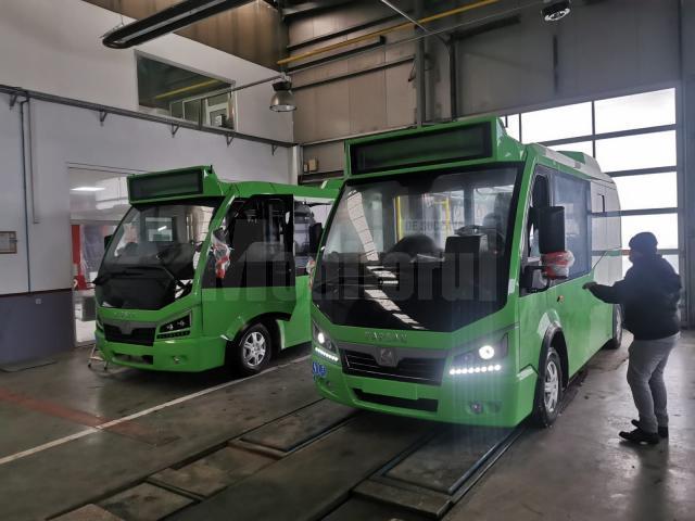 10 autobuze electrice de 6 m lungime au ajuns la Suceava, pentru a completa parcul auto al TPL