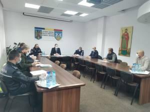 Ședință comună la sediul Prefecturii Suceava