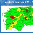 Doar patru localități din județul Suceava mai sunt în scenariul roșu