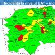 Două orașe și şapte comune au ieșit de sub restricțiile suplimentare pentru Covid