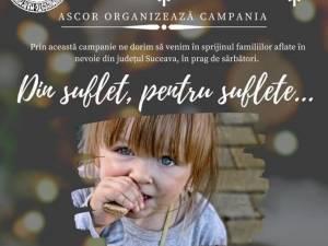 """Campania """"Din suflet, pentru suflete..."""", lansată de ASCOR Suceava"""