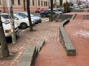 Lucrările de refacere a treptelor și aleilor aferente, finalizate în mai multe zone din municipiul Suceava 1