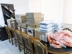 Shopping City Suceava a sponsorizat Centrul Școlar de Educație Incluzivă Suceava cu echipamente în valoare de peste 10.000 de euro