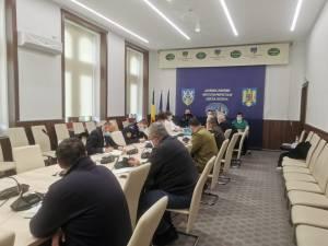 Putna - în scenariul roșu, Ilișești și Poiana Stampei în scenariul galben pentru 14 zile