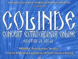 """Concert extraordinar de colinde al Asociației Culturale """"Sfântul Mitropolit Dosoftei"""""""