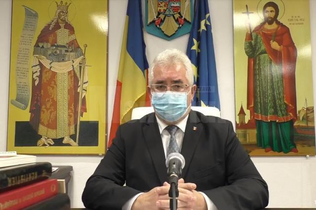 """Ion Lungu, primarul Sucevei - """"Și eu mă vaccinez"""""""