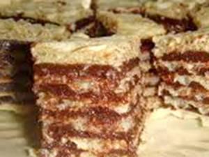 Napolitane cu ciocolată (de post). Foto: pinterest.com