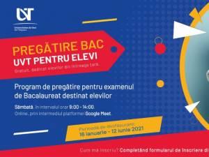 Universitatea de Vest din Timișoara sprijină elevi din toată țara în pregătirea examenului de bacalaureat