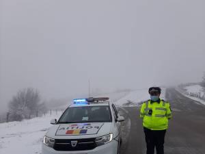 masini politie iarna1