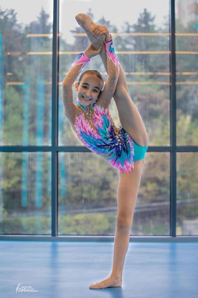 Iustina Iacob, participanta la prestigioasa competiție de dans din Italia Foto Ema Motrescu