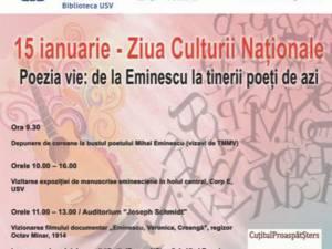 Ziua Culturii Naționale, sărbătorită, conform tradiției, și în acest an la USV