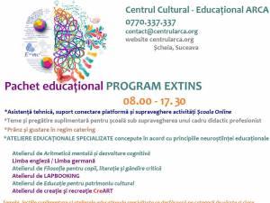 Centrul Cultural-Educațional ARCA, cu o paletă inedită de activități, vă așteaptă într-o clădire nouă din Șcheia