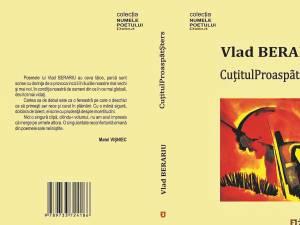 """Lansarea volumului de debut """"CuțitulProaspătȘters"""" de Vlad Berariu, vineri, la Auditorium """"Joseph Schmidt"""""""