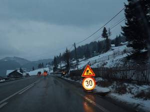 Trafic limitat la 30 de Km/h și supravegheat