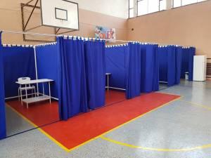 Amenajarea celor cinci centre de vaccinare din municipiul Suceava a fost finalizată joi