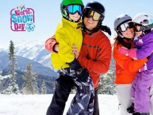 Lecții gratuite de schi și snowboard pentru copii și parada mascotelor pe schiuri, pe pârtia Parc din Vatra Dornei
