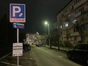 Locurile de parcare de pe Aleea Anastasie Crimca au devenit cu plată din data de 16 ianuarie 2021