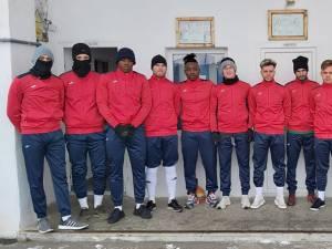 Fotbaliștii de la Şomuz au revenit încrezători la antrenamente. Foto Alex Savescu (Falticeni Online)