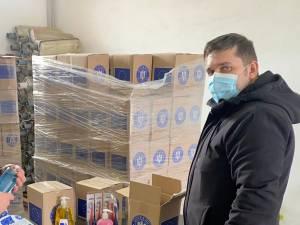 Subprefetul Daniel Prorociuc a participat la recepţia pachetelor de la UE pentru populaţie