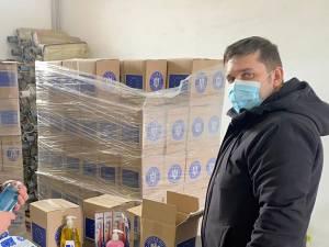 Subprefectul Daniel Prorociuc a participat la recepția pachetelor de la UE pentru populație