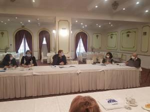 Una dintre dezbaterile proiectului a avut loc la Buzău, la finalul anului trecut