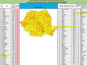 Județul Suceava a revenit pe primele locuri la nivel național la numărul cazurilor noi de Covid