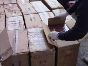 Două persoane reținute pentru infracțiunea de contrabandă, în urma unor percheziții domiciliare