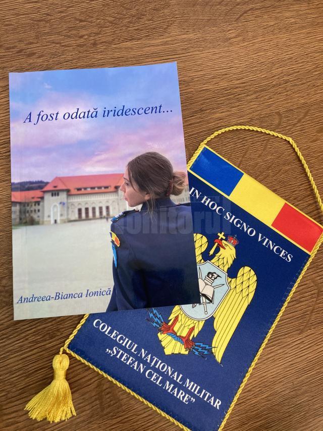 """Volumul """"A fost odată iridescent..."""", de eleva Andreea-Bianca Ionică"""