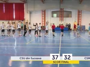 CSU II Suceava a câștigat la o diferență de 5 goluri disputa cu Bacăul