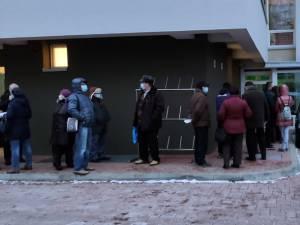 200 de oameni, vaccinaţi într-o oră şi jumătate la centrul de la Spitalul Suceava