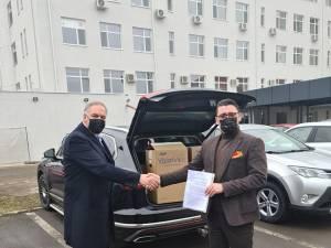 Trei concentratoare de oxigen au fost donate Spitalului Municipal Rădăuți