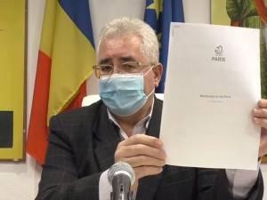 Primarul Sucevei, Ion Lungu se numără printre cei 500 de semnatari ai Acordului de la Paris