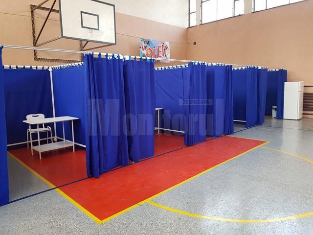 Amenajarea celor cinci centre de vaccinare din municipiul Suceava a fost finalizata din 14 ianuarie