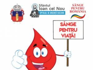 """""""Sânge pentru viață"""" - primul program de donare de sânge din 2021, demarat de Arhiepiscopia Sucevei și Rădăuților"""