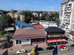 Bloc de locuințe cu regim mare de înălțime, solicitat a fi construit vizavi de sediul Primăriei Suceava