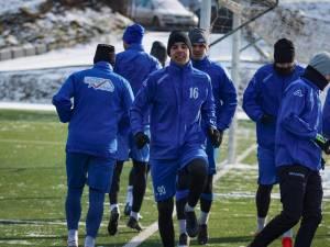 Fotbaliștii Bucovinei au arătat poftă de joc în amicale. Foto Cristian Plosceac