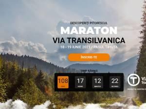 Startul înscrierilor s-a dat pe 1 martie, pe maraton.viatransilvanica.com